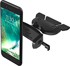 iOttie Easy One Touch Mini CD Slot Car Mount Holder Cradle for iPhone Xs Max R 8 Plus 7 Samsung Galaxy S10 E S9 S8 Plus Edge, Note 9 & Other Smartphone