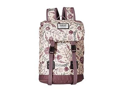 Burton Kids Tinder Backpack (Little Kid/Big Kid) (Etched Flowers Print) Backpack Bags
