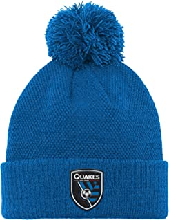 MLS by Outerstuff Boys' Cuffed Knit Hat with Pom
