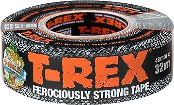T-Rex 821-55 Weefseltape, extreem sterke pantsertape, waterdichte reparatietape voor binnen en buiten, plakband voor repar...