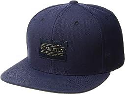 Logo Flat Brim Cap