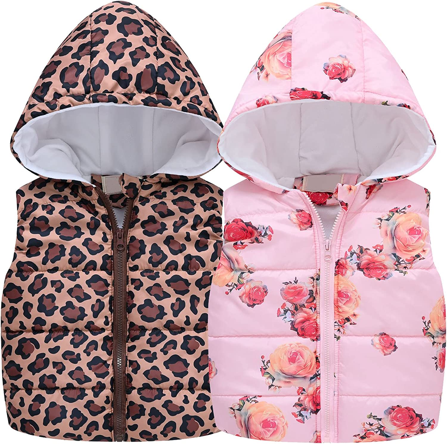Unisex Baby New mail order Girls Boys Puffer Down Toddlers Vest Winter Up H Sale special price Zip