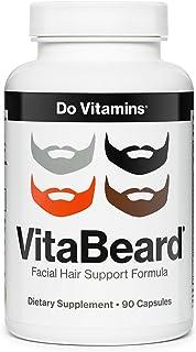 VitaBeard - Beard Growth Supplements for Men - Facial Hair Growth for Men - Beard Vitamins - The Original Beard Growth For...
