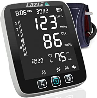 [All New 2020] Blood Pressure Monitor by LAZLE: Automatic Upper Arm Machine & Digital..