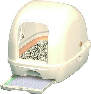 デオトイレ 1週間消臭・抗菌デオトイレ フード付き本体セット (アイボリー)