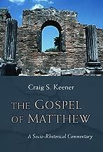 The Gospel of Matthew: A Socio-Rhetorical Commentary