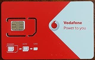 Vodafone UK - EU Travel SIM (100MB Data / 150 Minutes / 250 Texts)