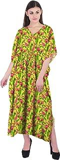 RADANYA Floral Women's Swimwear Kaftans Swimsuit Cover Up Caftan Beach Long Dress
