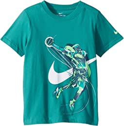 Brush Basketball Player Tee (Little Kids)