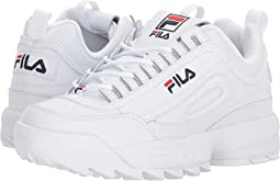 White/Filacnavy/Fila Red