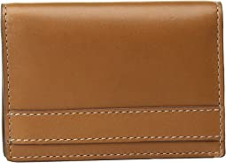 Coleton Gusset Card Case Front Pocket Wallet