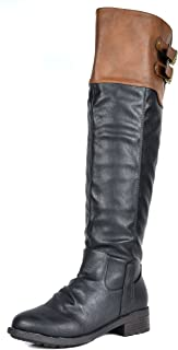 Women's Knee High and up Riding Boots (Wide-Calf)