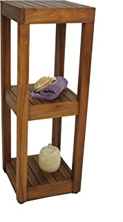 Best teak bathroom shelves Reviews