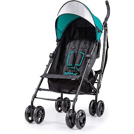 Summer 3Dlite Convenience Stroller, Teal - Lightweight Stroller with Aluminum Frame, Large Seat Area, 4 Position Recline, Extra Large Storage Basket - Infant Stroller for Travel and More