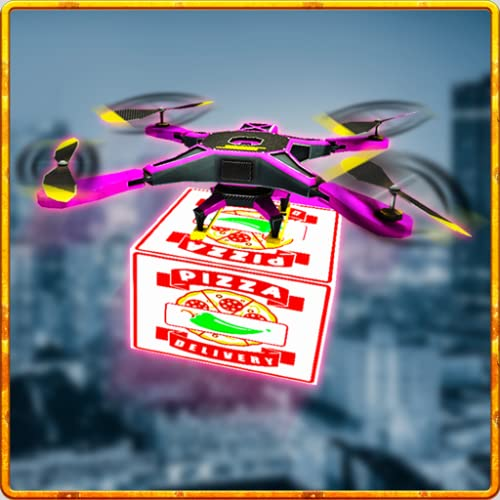 Pizza Delivery Drone Simulator