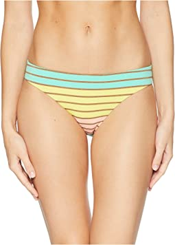 Lurex Stripe Basic Hipster Bottom
