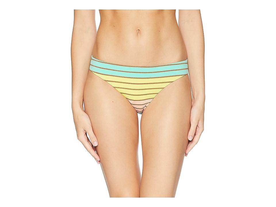 Trina Turk Lurex Stripe Basic Hipster Bottom (Multi) Women