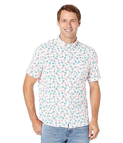 Southern Tide Intercoastal Southern Greeting Print Short Sleeve Sport Shirt