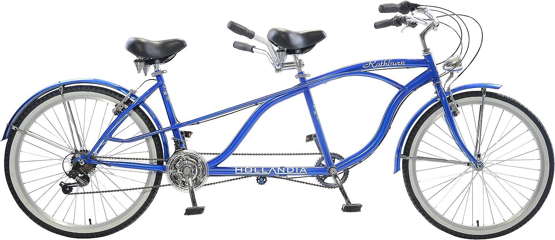 Hollandia Rathburn Tandem Bike, 26 inch Wheels, 18 inch Frame, Unisex, blueee