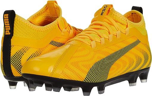 Ultra Yellow/Puma Black/Orange Alert