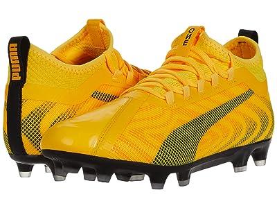 PUMA One 20.2 FG/AG (Ultra Yellow/Puma Black/Orange Alert) Men