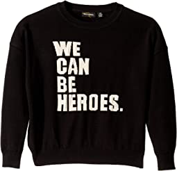 We Can Be Heroes Knit Pullover (Toddler/Little Kids/Big Kids)