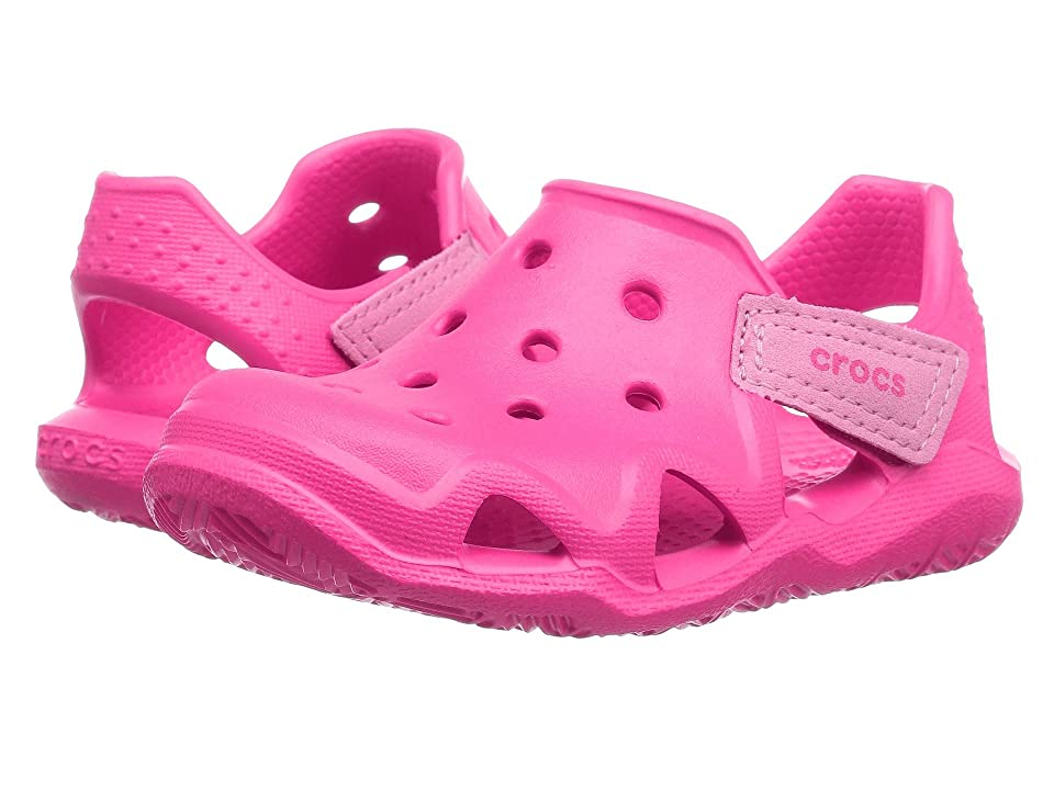 Crocs Kids Swiftwater Wave (Toddler/Little Kid) (Neon Magenta) Kid