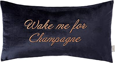 Ted Baker Wake Me for Champagne Decorative Pillow, 12x22, Navy