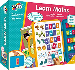 Galt Toys, Learn Maths, Kids Math Learning Set, Ages 4 Years Plus