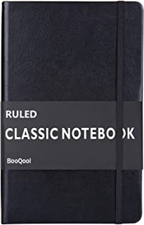 Ruled Notebook/Journal – Premium Thick Paper Faux Leather Classic Writing Notebook,..