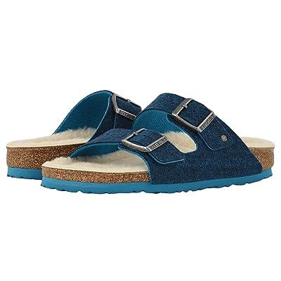 Birkenstock Arizona Wool (Doubleface Blue) Shoes