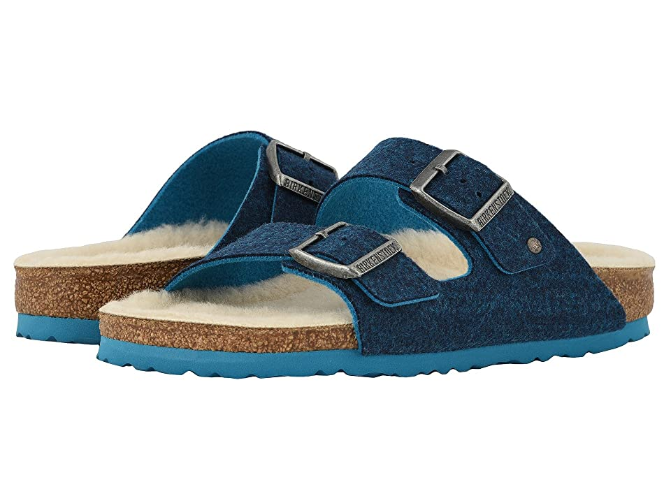 Birkenstock Arizona Wool (Doubleface Blue) Shoes