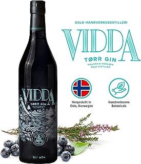 Vidda Torr Dry Gin aus Norwegen   Gin Master 2020   Premium Gin mit 11 Nordic Botanicals   Small Batch Manufaktur   1x 0,7l