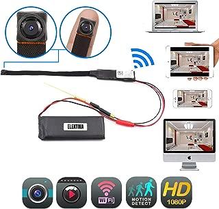 Mini Hidden WiFi Flex Wireless Camera 1080p HD Portable Security Indoor Outdoor IP Surveillance Camaras Motion Detection Loop Recording High Definition Nanny Cameras Home Business Night Vision Camera