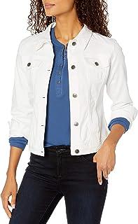 Riders by Lee Indigo Women's Denim Jacket, White, XL