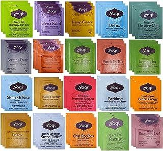YOGI TEA SAMPLER 20 FLAVORS ( 60 TEA BAGS )
