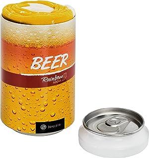 Hombre Mujer Divertidos Calcetines de Lata de Cerveza 1 Par