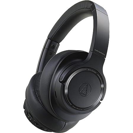 Audio-Technica ATH-SR50BT Bluetooth Wireless Over-Ear Headphones, Black (ATH-SR50BTBK)