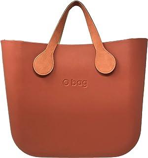 d2a09bd667 O Bag Terracotta + Orange Vintage Short Sleeves + Natural Color Inner Bag