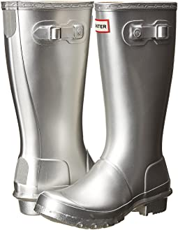 Hunter Kids Original Metallic Rain Boot (Little Kid/Big Kid)