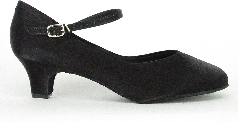 So Danca BL144 Satin Low Heel Ballroom Shoe