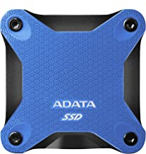 ADATA SD600Q 480G 3D NAND USB3.2 Ultra-Speed External Solid State Drive Read up to 440 MB/s Blue (ASD600Q-480GU31-CBK)