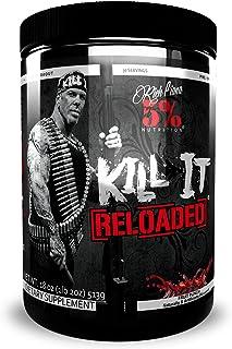 Rich Piana 5% Nutrition Kill It Reloaded Pre Workout (Fruit Punch) 18oz (513 Grams) 30 Servings