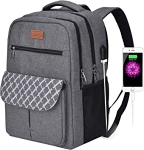 Backpacks for College Students, Backpacks for High School ,Laptop Backpack Water Resistant Computer Bag with Usb Charging Port