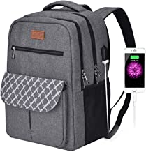 کوله پشتی کوله پشتی مدرسه ضد سرقت Arrontop Business Backpack کوله پشتی لپ تاپ مقاوم در برابر آب کیف کامپیوتر با درگاه شارژ USB