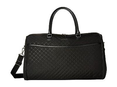 Vera Bradley Iconic Convertible Garment Bag (Classic Black) Bags