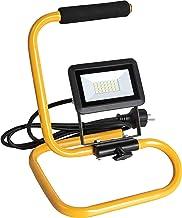 Meister LED-spot - 20 Watt - 1600 Lumen - 1,5 meter voedingskabel - op voet & met zachte draaggreep - IP65 waterbeschermin...