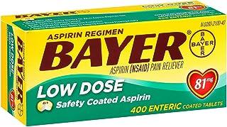 Bayer Low Dose Safety Coated Aspirin 81 mg ( 400 Count )IIIiii