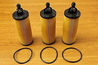 Chrysler Jeep Dodge RAM 3.2L 3.6L V6 Pentastar Oil Filter Set of 3 Mopar