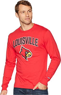 Louisville Cardinals Long Sleeve Jersey Tee